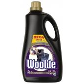 Woolite Darks Black & Denim tekutý prací prostředek s keratinem na tmavé a černé prádlo 60 dávek 3,6 l