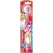 Colgate Kids Barbie Extra Soft elektrický zubní kartáček pro děti