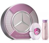 Mercedes-Benz Mercedes Benz Woman Eau de Parfum parfémovaná voda pro ženy 90 ml + tělové mléko 125 ml, dárková sada