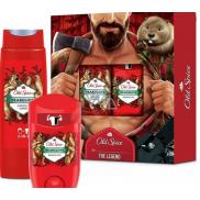 Old Spice BearGlove Lumberjack antiperspirant deodorant stick 50 ml + 2v1 sprchový gel na tělo a vlasy 250 ml, kosmetická sada pro muže