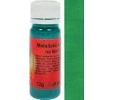 Art e Miss Barva na světlý i tmavý textil 34 metalická tmavě zelená 12 g