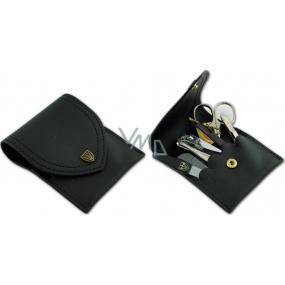Kellermann 3 Swords Luxusní manikúra 6 dílná Genuine Leather z pravé kůže L58831PN