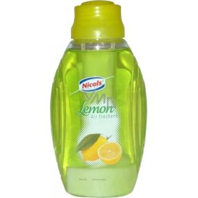 Nicols Air Freshener Lemon osvěžovač vzduchu s knotem 375 ml