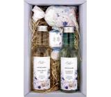 Bohemia Gifts Dead Sea Mrtvé moře, Extrakt mořských řas a solí sprchový gel 200 ml + šampon na vlasy 200 ml +sůl do koupele 150 g + toaletní mýdlo 30 g, kosmetická sada