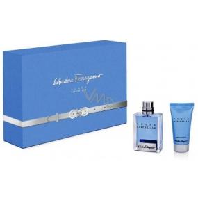 Salvatore Ferragamo Acqua Essenziale toaletní voda pro muže 50 ml + sprchový gel 50 ml, dárková sada