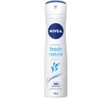 Nivea Fresh Natural deodorant sprej pro ženy 150 ml