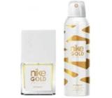 Nike Gold Edition Woman toaletní voda 30 ml + deodorant sprej 200 ml, dárková sada