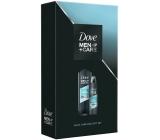 Dove Men + Care Clean Comfort sprchový gel na tělo a tvář pro muže 400 ml + antiperspirant deodorant sprej pro muže 150 ml, kosmetická sada