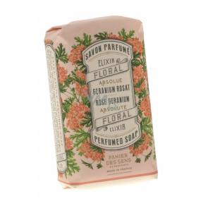 Panier des Sens Růže a Muškát třikrát jemně mleté mýdlo mýdlo 150 g