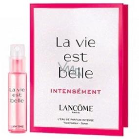 Lancome La Vie Est Belle Intensément parfémovaná voda pro ženy 1,2 ml s rozprašovačem, vialka