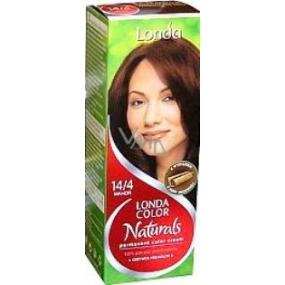 Londa Color Naturals permanentní barva na vlasy 14/4 mahagenová červená