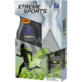 Fa Men Xtreme Sports sprchový gel 400 ml + deodorant sprej 150 ml, kosmetická sada