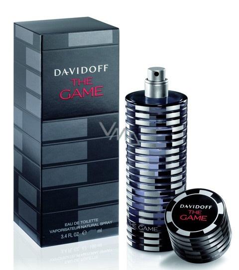 Davidoff The Game toaletní voda pro muže 40 ml