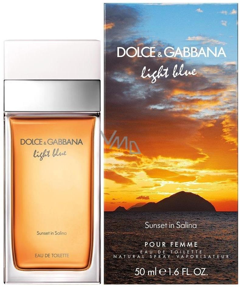 Dolce & Gabbana Light Blue Sunset in Salina toaletní voda pro ženy 50 ml