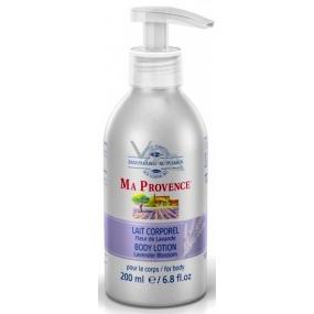 Ma Provence Bio Květ Levandule tělové mléko 200 ml