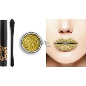 Glitter Lips dlouhotrvající lesk na rty se třpytkami Midas Kiss 3,5 ml