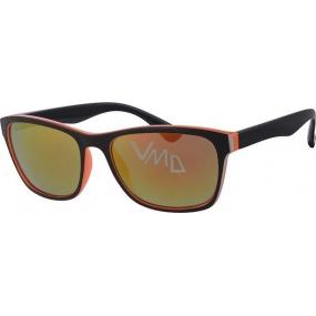 Nae New Age A40247 černooranžové sluneční brýle