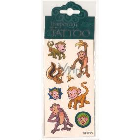 Tetovací obtisky dětské zvířátka T4P023D 7,5 x 15 cm